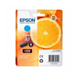 CARTUCHO EPSON Nº33 CIAN...