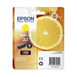 CARTUCHO EPSON 33 AMARILLO...