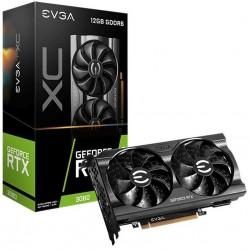 Tarjeta Gráfica EVGA Geforce RTX 3060 XC Gaming 12GB DDR6