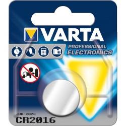 Pila Botón CR2016 Varta 3V