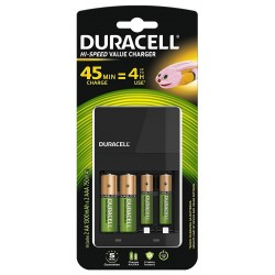 Cargador de Pilas Duracell Hi-Speed Value