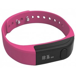 Pulsera Fitness Leotec Smart Rosa