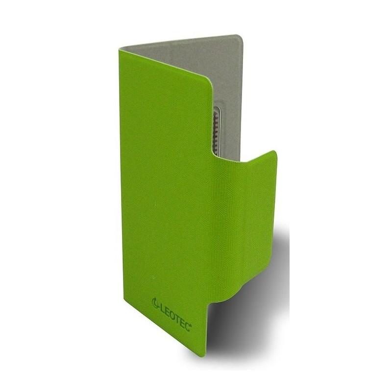 """Funda para Smartphone de 5,5"""" Leotec Verde"""