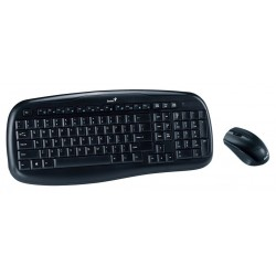 Wireless keyboard and mouse Genius KB-8000X