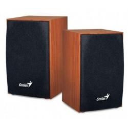Speakers Genius SP-HF160 2.0 Black Wood