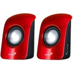 Altavoces 2.0 Genius SP-U115 Rojo