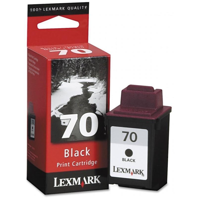 Lexmark 70 Black Ink 12AX970E