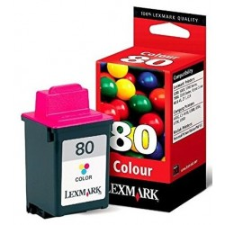 Lexmark 80 Color Ink 12A1980E