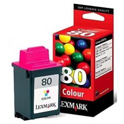 Tinta Lexmark 80 Color...