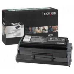 Tóner Lexmark 12A7400 Negro