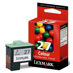 Tinta Lexmark 27 Color...