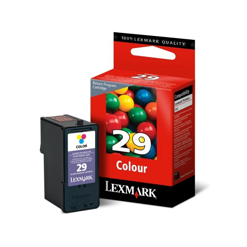 Tinta Lexmark 29 Color 18C1429E