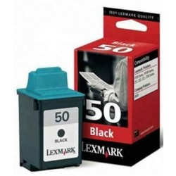 Tinta Lexmark 50 Negro...