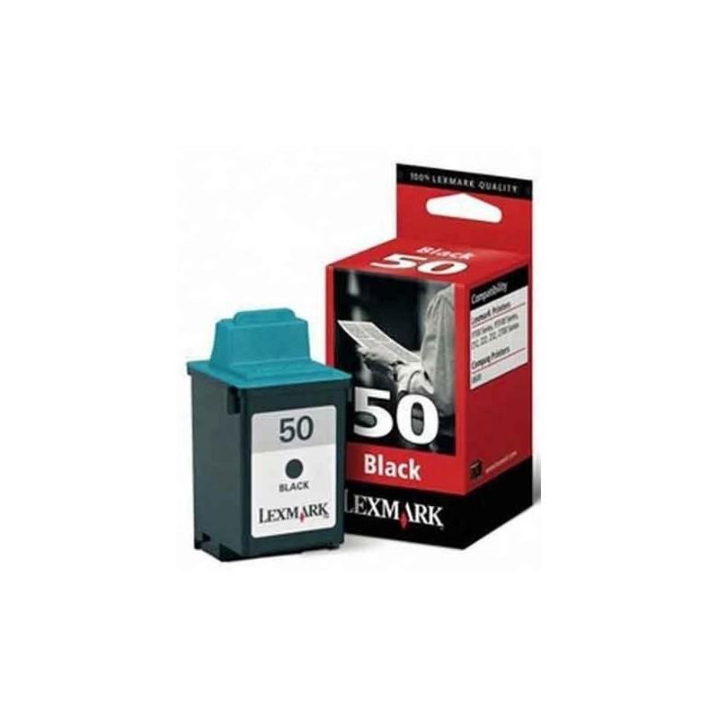 Lexmark 50 Black Ink 17G0050E