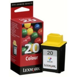 Lexmark 20 Color Ink 15M0120E