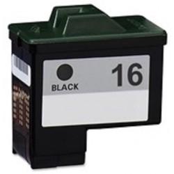 Tinta Compatible Lexmark 16 Negro