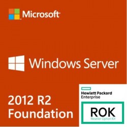 Microsoft Windows Server 2012 R2 HP Foundation