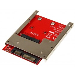 STARTECHCOM ADAPTADOR CONVERSOR DE SSD MSATA A SATA 2.5