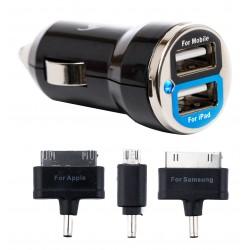 Cargador USB de Coche Bluestork 2 Tab