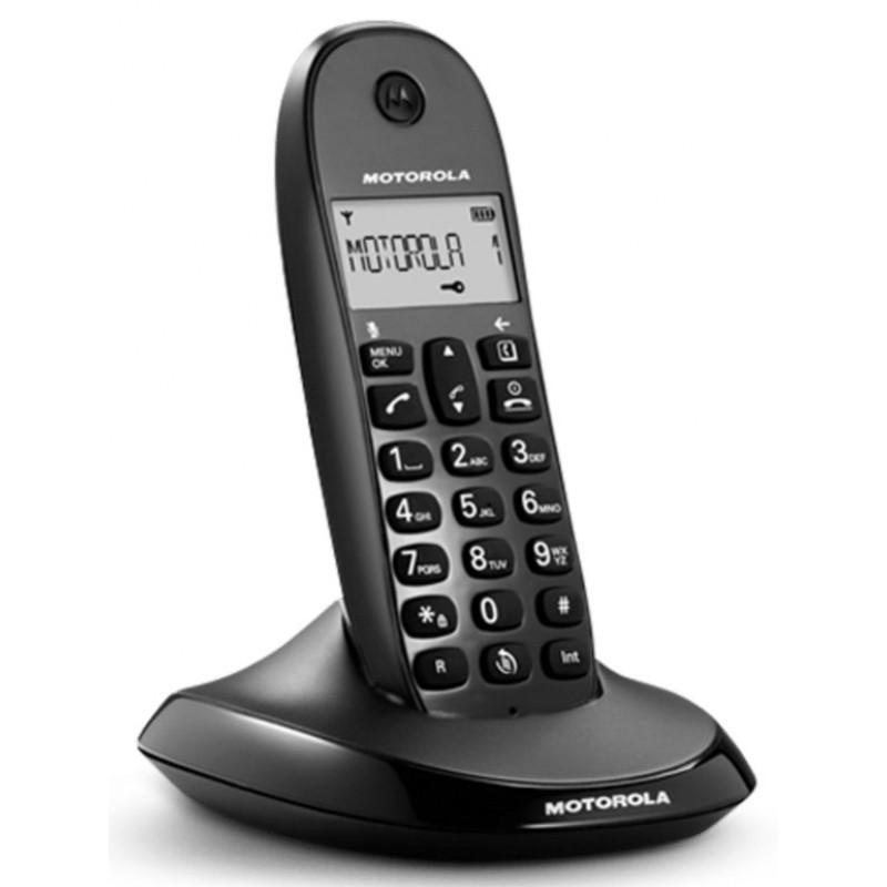 Teléfono Inalámbrico Motorola C1001LB Lite Negro