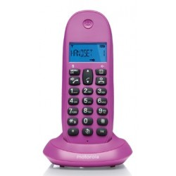 MOTOROLA TELEFONO INALAMBRICO C1001L SINGLE VIOLETA
