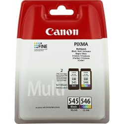CANON CARTUCHO VALUE PACK PG-545/CL-546