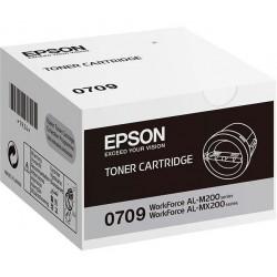 EPSON TONER C13S050709 NEGRO 0709