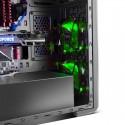 Carcasa ATX Nox Coolbay ZX Led Verde
