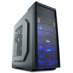 Nox ATX housing Coolbay SX Blue Edition