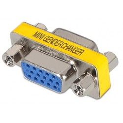 Adaptador VGA HDB15 H/H Nanocable