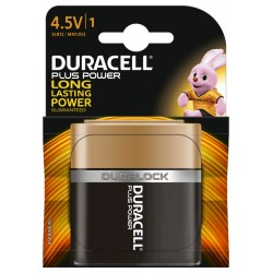 DURACELL PLUS PILA ALCALINA 4,5V MN1203 BLISTER 1UD