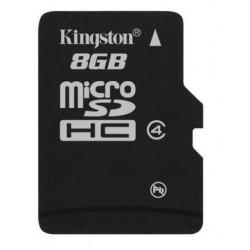 Tarjeta MicroSD 8GB Kingston SDC4