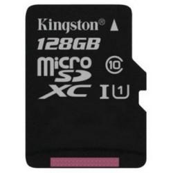 Tarjeta MicroSD 128GB Kingston SDC10G2