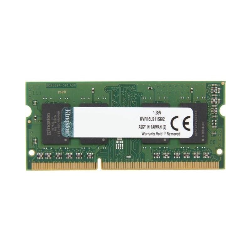 Kingston Memoria Sodimm 2Gb Ddr3 1600Mhz