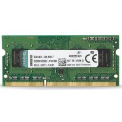 Memoria Sodimm DDR3 1333 4GB Kingston KVR13S9S8/4
