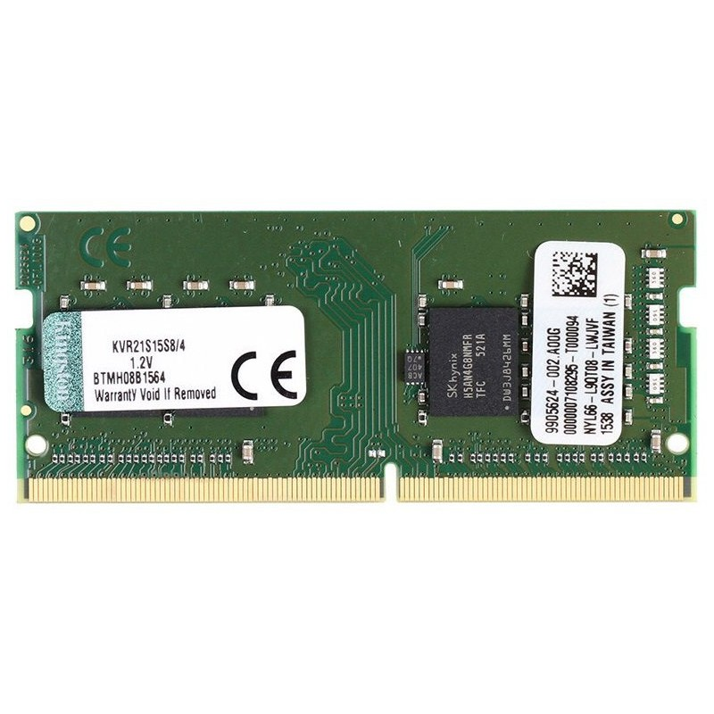 Memoria Sodimm DDR4 2133 4GB Kingston KVR21S15S8/4