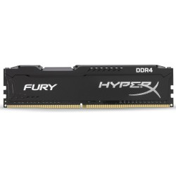 Memoria DDR4 2400 4GB Kingston HyperX Fury Black