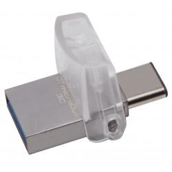 Pendrive Type-C de 128GB 3.0 Kingston DT MicroDuo 3C