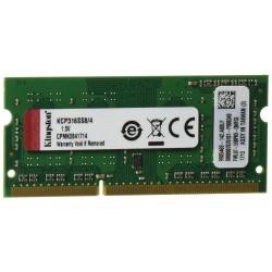Memoria Sodimm DDR3 1600 4GB Kingston KCP316SS8/4