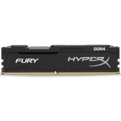 Memoria DDR4 2400 8GB Kingston HyperX Fury Black