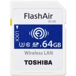 Tarjeta SD 64GB Toshiba FlashAir W-04