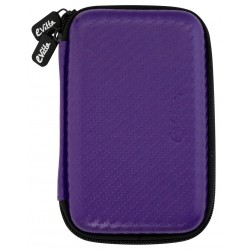 "Disk Case 2.5 ""E-Vitta Carbon Fiber Purple"