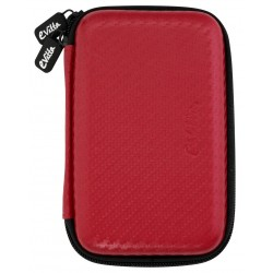 "Funda Disco 2,5"" E-Vitta Carbon Fiber Red"