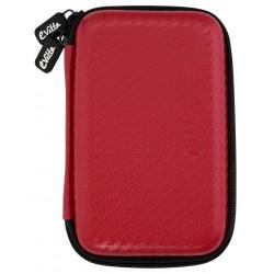 """Funda Disco 2,5"""" E-Vitta Carbon Fiber Red"""