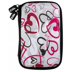 "Funda Disco 2,5"" E-Vitta Urban Crazy Hearts"