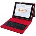 """Funda para Tablet de 10"""" E-Vitta KeyTab USB Roja"""