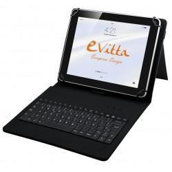 """Funda para Tablet de 10"""" E-Vitta KeyTab USB Negra"""