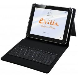 """Funda para Tablet de 7-8"""" E-Vitta KeyTab USB Negra"""