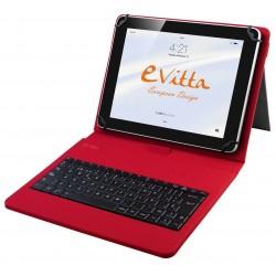 """Funda para Tablet de 7-8"""" E-Vitta KeyTab USB Roja"""