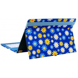 "Tablet Case for 10 ""E-Vitta Keytab USB Daisies"
